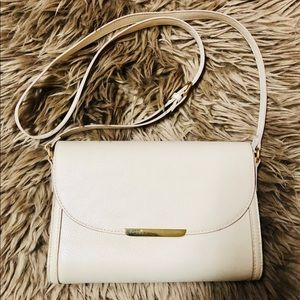 Ivory bag from f21